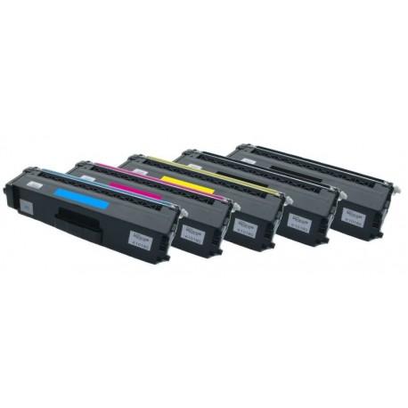 5x Toner Brother TN-328 (TN-328Bk, TN-328C, TN-328Y, TN-328M) - C/M/Y/2xK kompatibilní - HL-4140, MFC-9460, DCP-9270