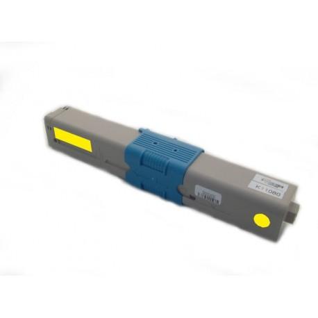 Toner Oki C301 44973533 žlutý (yellow) 1500 stran kompatibilní - Oki C301DN, C321, C321DN