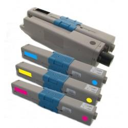 4x Toner Oki C301 44973536, 44973535, 44973534, 44973533  - C/M/Y/K kompatibilní - Oki C301DN, C321, C321DN