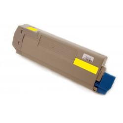 Toner Oki C5850 43865721 žlutý (yellow) 6000 stran kompatibilní - Oki C5850N, C5850DN, C5950, C5950N, C5950DN, MC560N