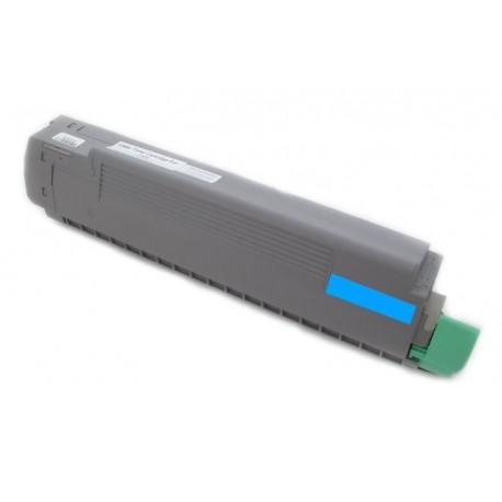 Toner Oki C8600 43487711 modrý (cyan) 6000 stran kompatibilní - Oki C8600N, C8800, C8800N, C8800DN