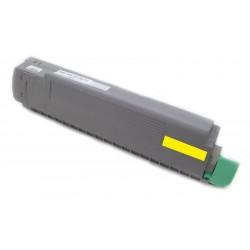 Toner Oki C8600 43487709 žlutý (yellow) 9000 stran kompatibilní - Oki C8600N, C8800, C8800N, C8800DN