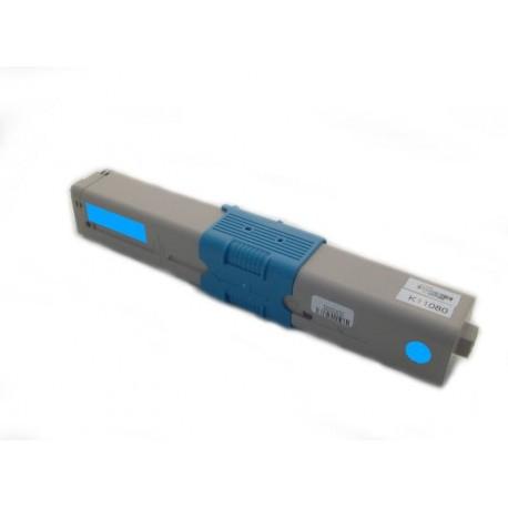 Toner Oki C310 44469706 modrý (cyan) 2000 stran kompatibilní - Oki C310DN, C330, C330DN, C510, C510DN, MC351, MC561