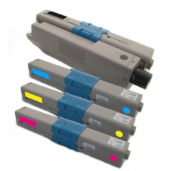 4x Toner Oki C310 44469803, 44469706, 44469705, 44469704  - C/M/Y/K kompatibilní - Oki C310DN, C330 DN, C510, C510DN, MC351