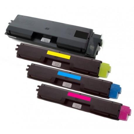 4x Toner Kyocera Mita TK-590 (Tk-590K, Tk-590BK, TK-590C, TK-590M, TK-590Y)  - C/M/Y/K komp.- FS-C2026 MFP, FS-C2126, FS-C5250