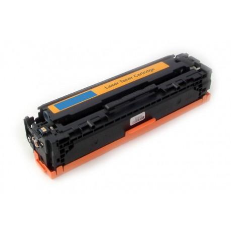 Toner HP CB541A modrý (cyan) 1400stran kompatibilní - LaserJet CP-1210 / CM-1312 MFP / CP-1214 / CP-1515
