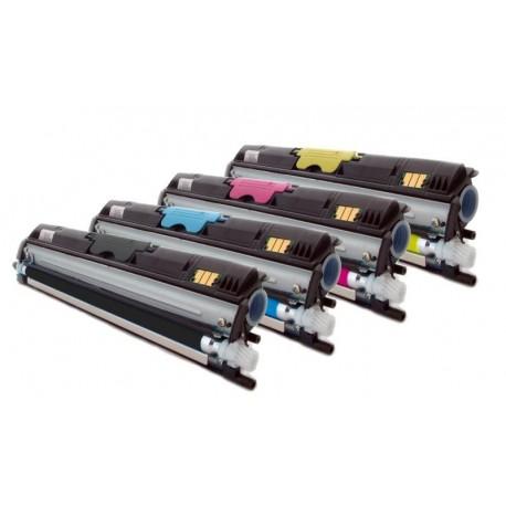 Sada 4x barevný Toner Konica Minolta A0V30NH, A0V301H, A0V30CH, A0V306H, A0V30HH - C/M/Y/K kompatibilní - 1600, 1650, 1680, 1690