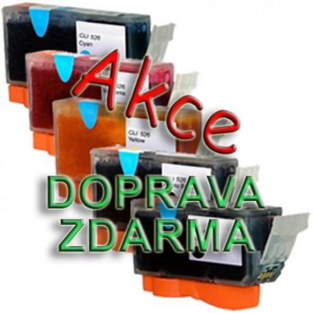 zdarmaSada Canon PGI-5 / CLI-8 (PGI5BK, CLI8) PIXMA - kompatibilní inkoustové náplně (cartridge) - Canon