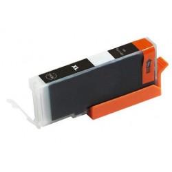 Canon CLI-571Bk černá (black) (CLI-571, CLI-571XL Bk, PGI-570) MG5750, MG6850, MG7750 kompatibilní inkoustová náplň (cartridge)