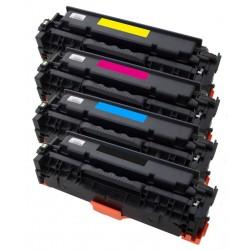 4x Toner HP CF380X, CF381A, CF382A, CF383A (CF380, CF381, 312A) LaserJet Pro M476, M476dn, M476dw, M476nw - C/M/Y/K komp.