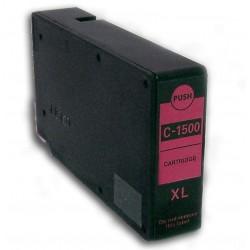 Canon PGI-1500XL M červen (magenta) (PGI-1500M, 9194B001) kompatibilní inkoustová náplň (cartridge) pro MAXIFY MB2050, MB2350