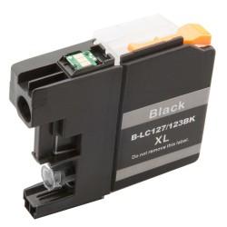 Cartridge Brother LC-127Bk (LC-127, LC-125) černá (black) - kompatibilní inkoustová náplň (cartridge)