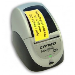 Etikety / Štítky Dymo Labelwriter 89x36mm , 99012, S0722400 žluté, 260ks kompatibilní