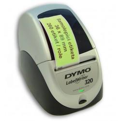 Etikety / Štítky Dymo Labelwriter 89x36mm , 99012, S0722400 zelené, 260ks kompatibilní