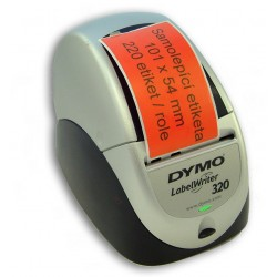 Etikety / Štítky Dymo Labelwriter 101x54mm červené, 99014, S0722430 - přepravní, 220ks kompatibilní