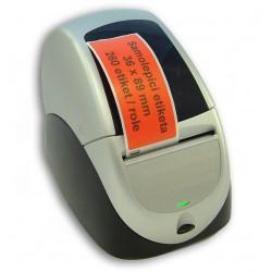 Etikety / Štítky Seiko SLP Label 36x89mm červené, SLP-2RLE, 260ks - kompatibilní