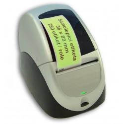 Etikety / Štítky Seiko SLP Label 36x89mm zelené, SLP-2RLE, 260ks - kompatibilní