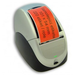 Etikety / Štítky Seiko SLP Label 54x101mm červené, SLP-SRL, SLP-RSRL, 220ks - kompatibilní