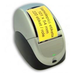 Etikety / Štítky Seiko Label 54x101mm žluté, SLP-SRL, SLP-RSRL, 220ks - kompatibilní - SEIKO