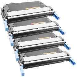 4x Toner Canon CRG-711Bk, CRG-711C, CRG-711M, CRG-711Y (CRG711, CRG-711, CRG711Bk) - C/M/Y/K kompatibilní