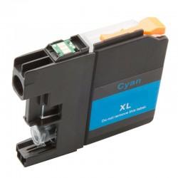 Cartridge Brother LC-3219XLC (LC-3219C, LC-3217, LC-3217C) modrá (cyan) - kompatibilní inkoustová náplň (cartridge)