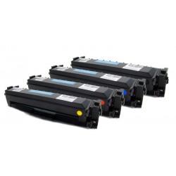 4x Toner HP CF410X, CF411X, CF412X, CF413X 410X pro Color LaserJet Pro MFP M452, M377, M477 - C/M/Y/K kompatibilní