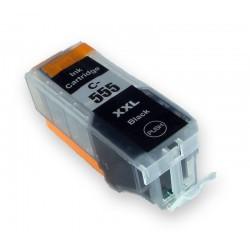 Canon PGI-555XXL černá (black) (PGI-555 XXL, PGI-555PGBK, PGI-550XL,PGI-550BK, CLI551) kompatibilní inkoustová náplň (cartridge)