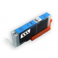 Alternativní modrá inkoustová náplň se zvýšenou tiskovou kapacitou, nahrazujících Canon CLI-581 určená pro tiskárny PIXMA TR7550