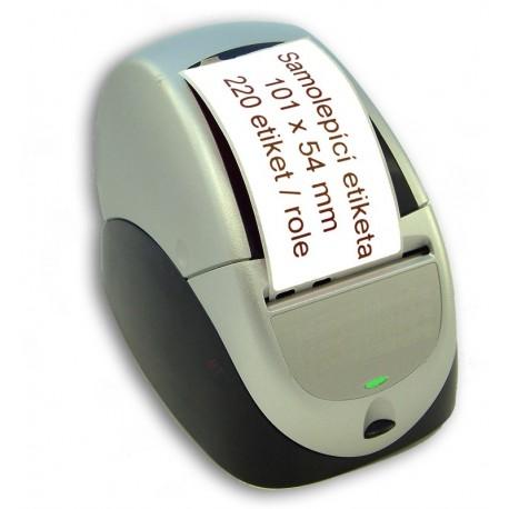 Etikety / Štítky Seiko Label 54x101mm, SLP-SRL, SLP-RSLR, přepravní, 220ks - kompatibilní - SEIKO