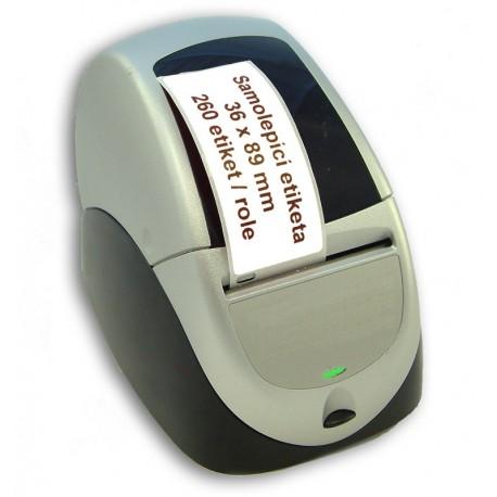 Etikety / Štítky Seiko Label adresní 36x89mm , SLP-2RLE, 260ks - kompatibilní