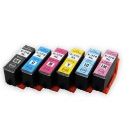 Sada T3798 378XL (T3791, T3792, T3793, T3794, T3795, T3796) kompatibilní inkoustové náplně (cartridge) pro Epson