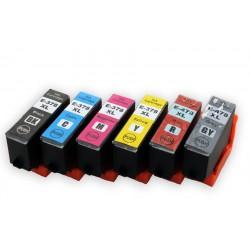 Sada Epson 378XL /  478XL (T3791, T3792, T3793, T3794, C13T379D4010) kompatibilní inkoustové náplně (cartridge) pro XP-15000