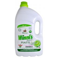 Winni's Piatti Lime 5000ml - hypoalergenní mycí prostředek na nádobí s vůní limetky -MADEL