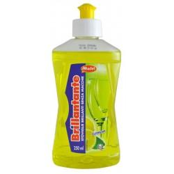 Brillantante Lemon 250ml - Leštidlo pro myčku nádobí s vůní citrusů - MADEL