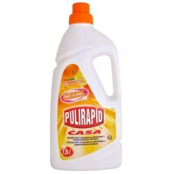 Pulirapid Casa Agrumi 1500ml - Univerzální čistič se čpavkem a alkoholem Pulirapid Casa s vůní citrusů - MADEL