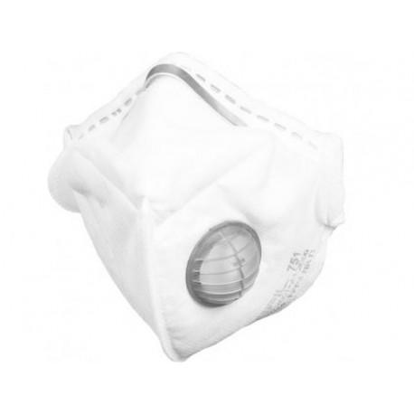 Respirátor Refil 751 FFP3 NR D s výdechovým ventilem  - proti prachům, bakteriím, virům, aerosolům