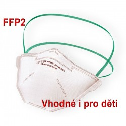Respirátor BLS 502 FFP2 NR bez výdechového ventilu proti prachu, aerosolům, COVID-19, koronavirus, coronavirus, SARS-COV-2